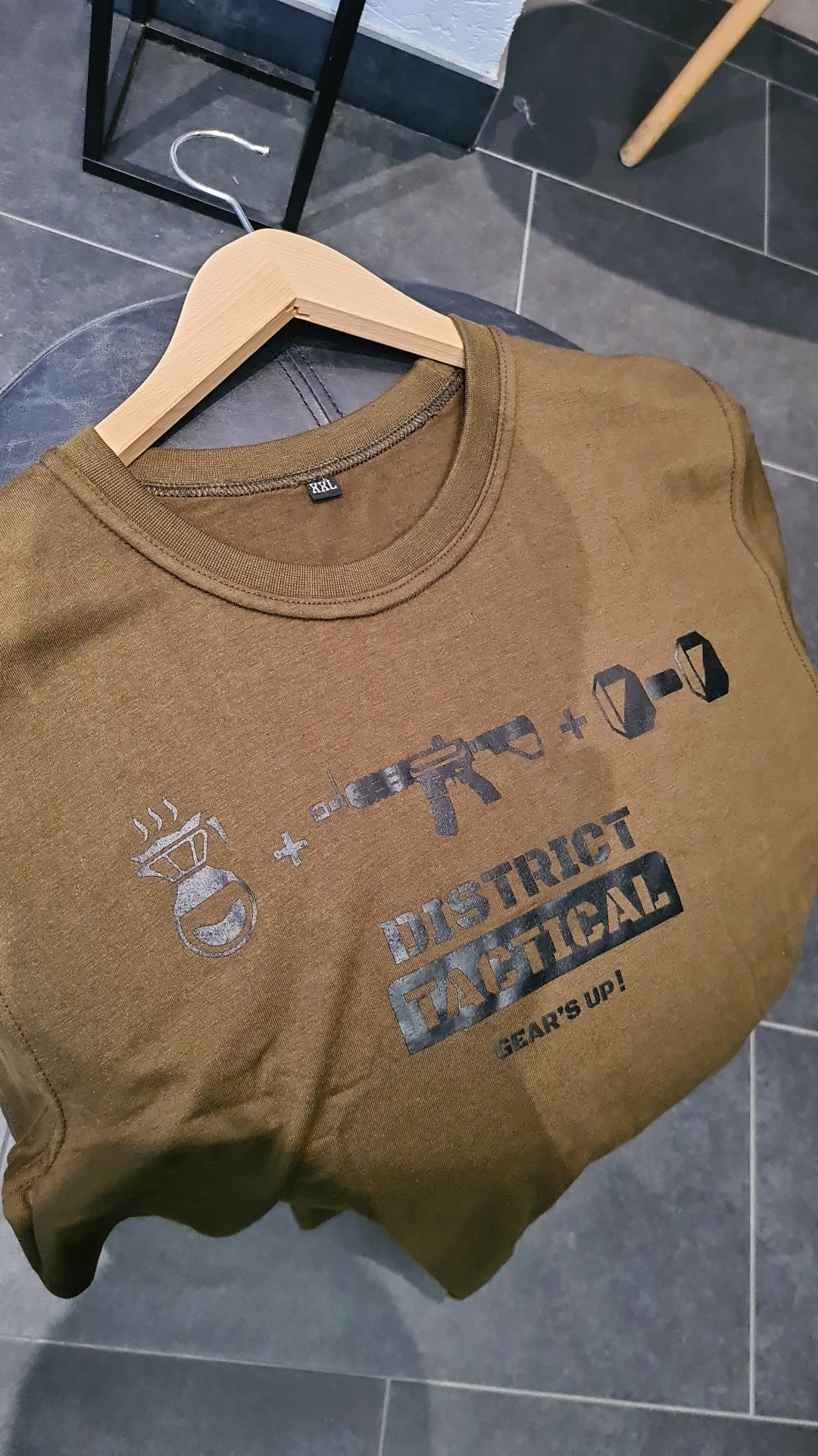 """T-shirt """"District Tactical"""" Olive"""