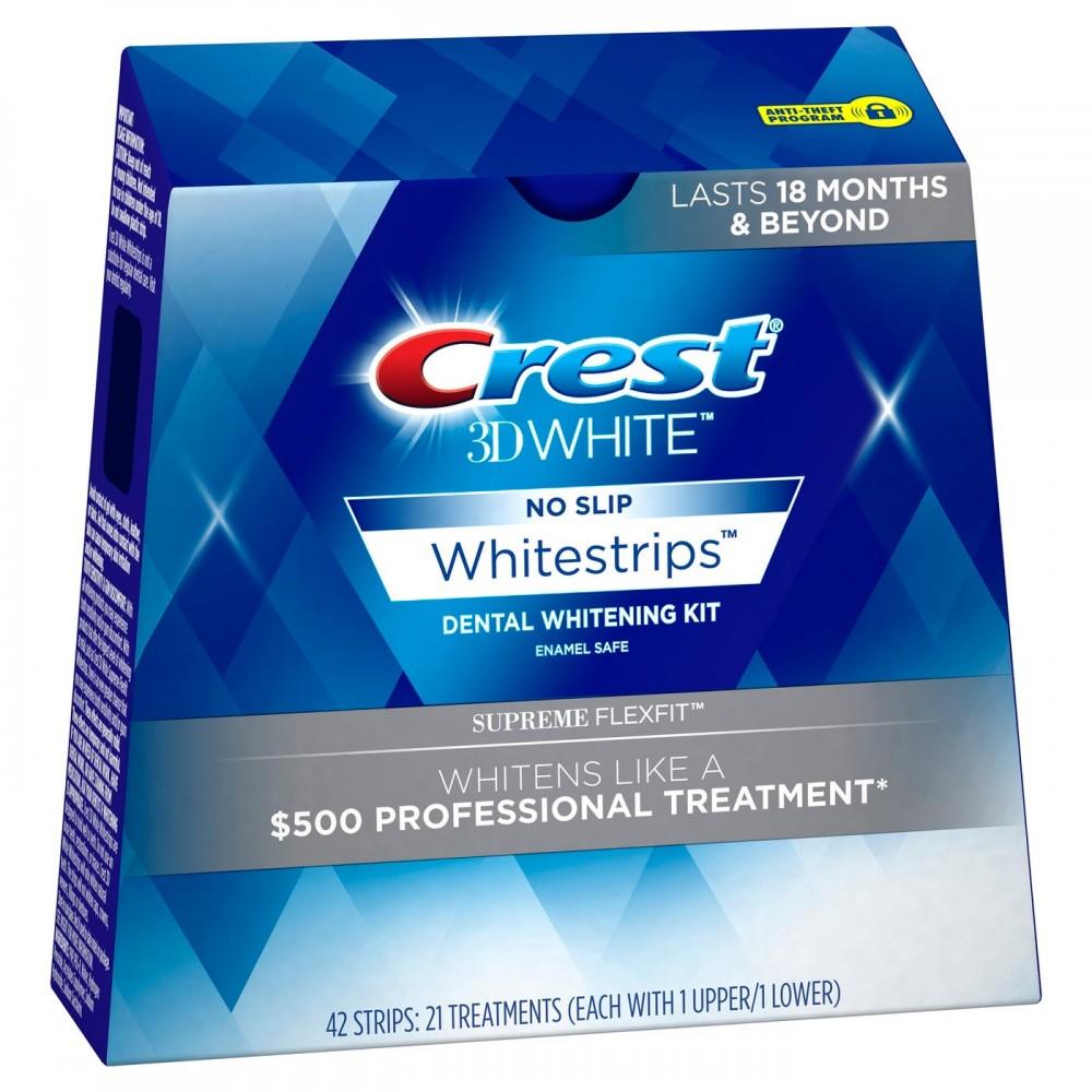 Paski wybielające Crest Whitestrips Supreme Flexfit