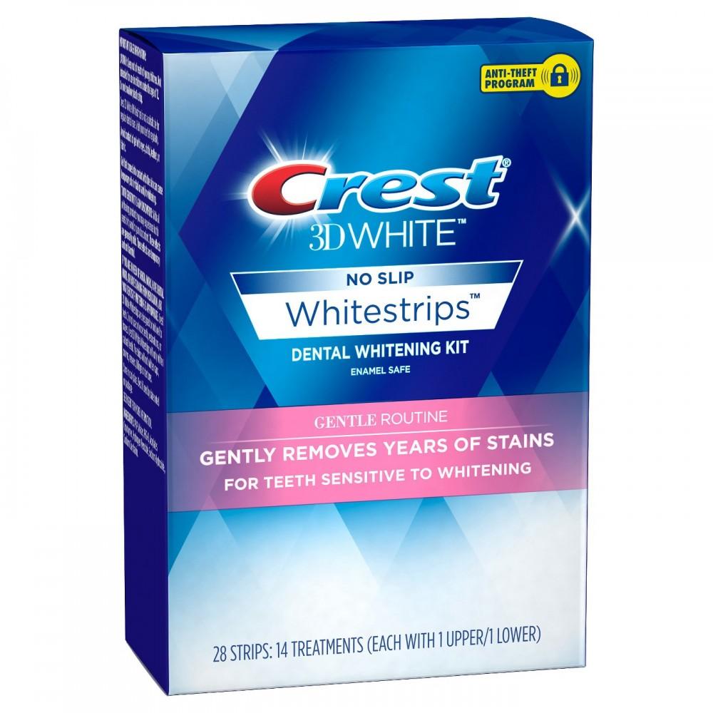 Paski wybielające Crest Whitestrips Gentle Routine