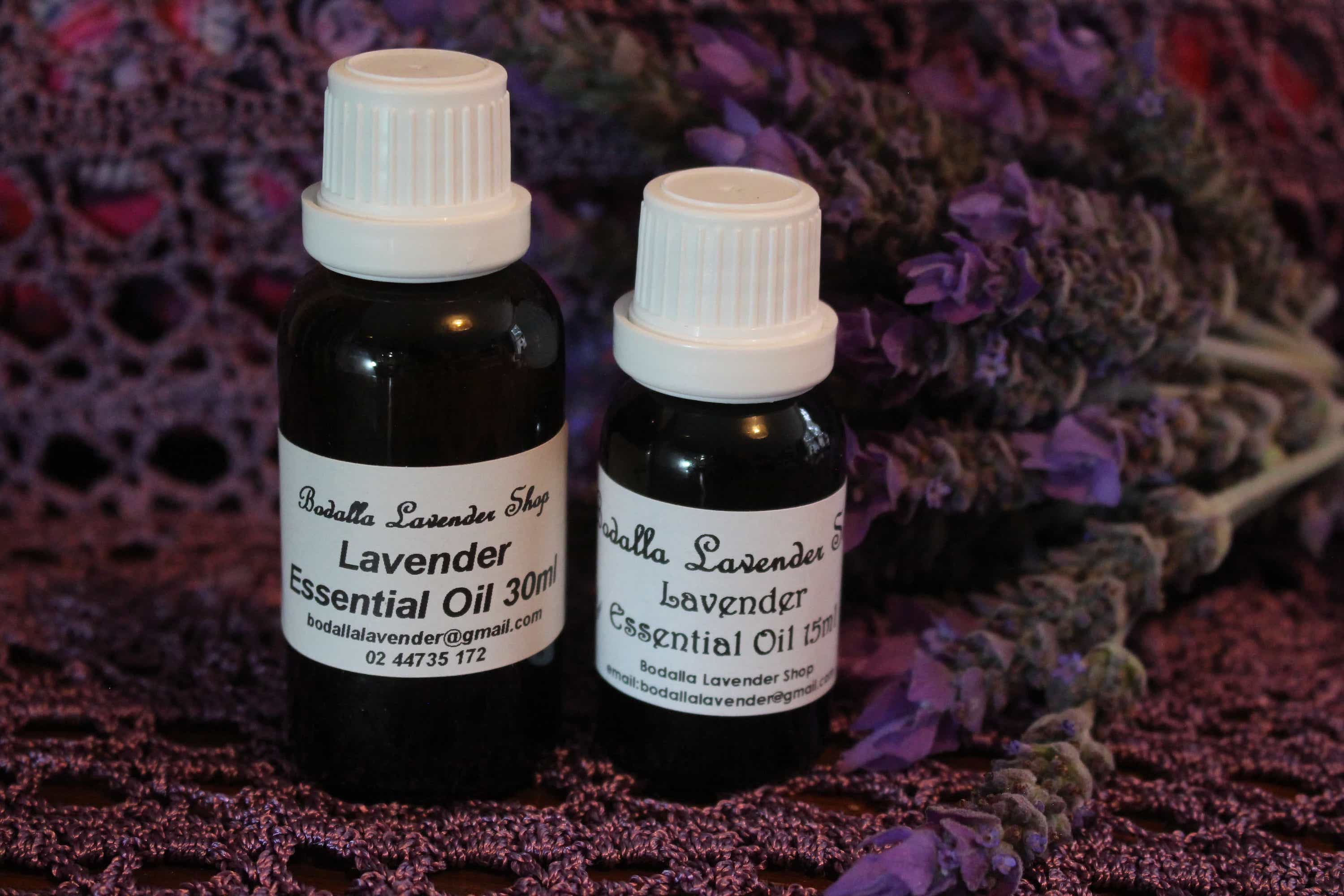 Photograph of an Lavender Essential Oil 15ml product