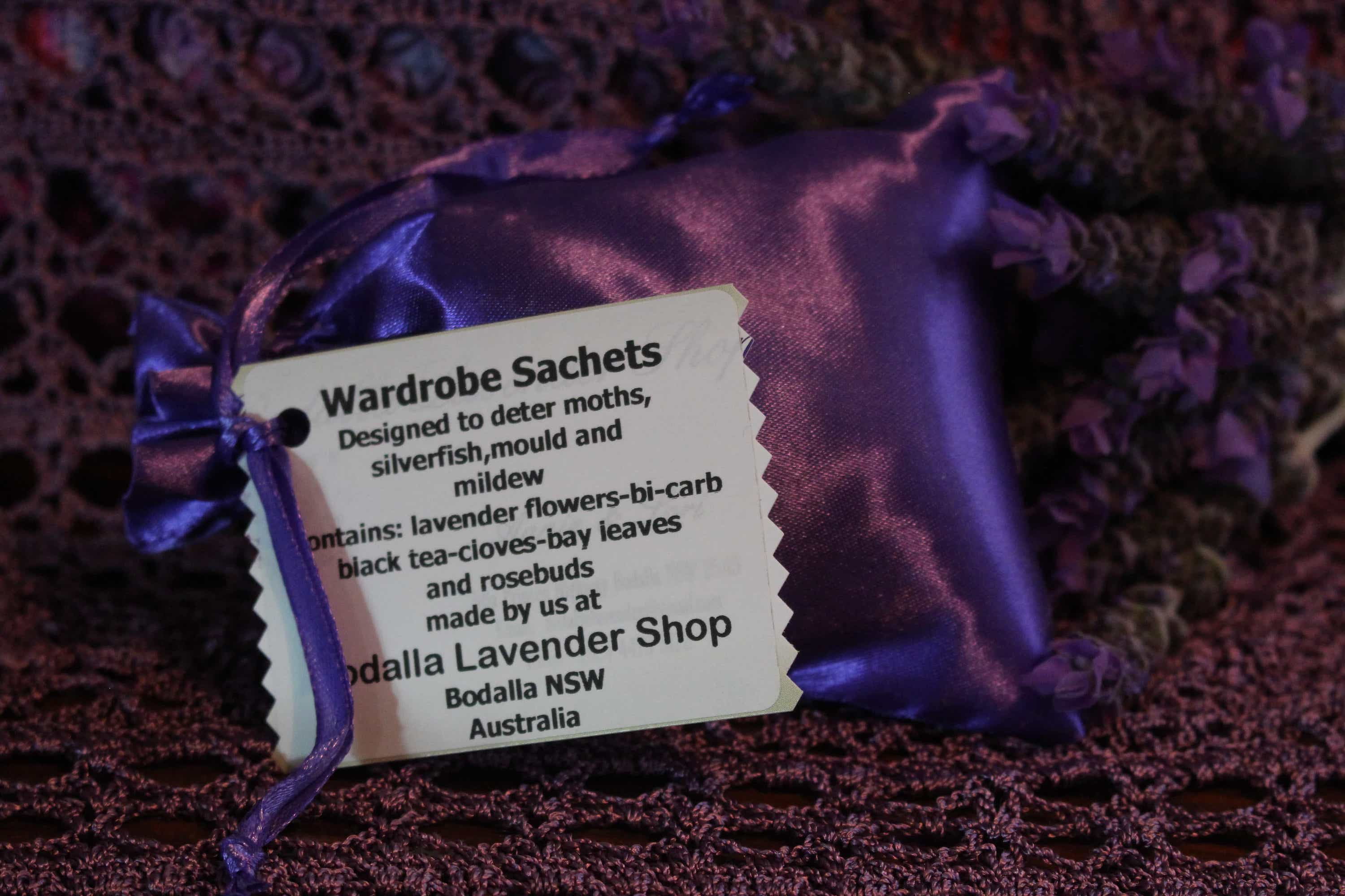 Photograph of an Wardrobe Sachets product