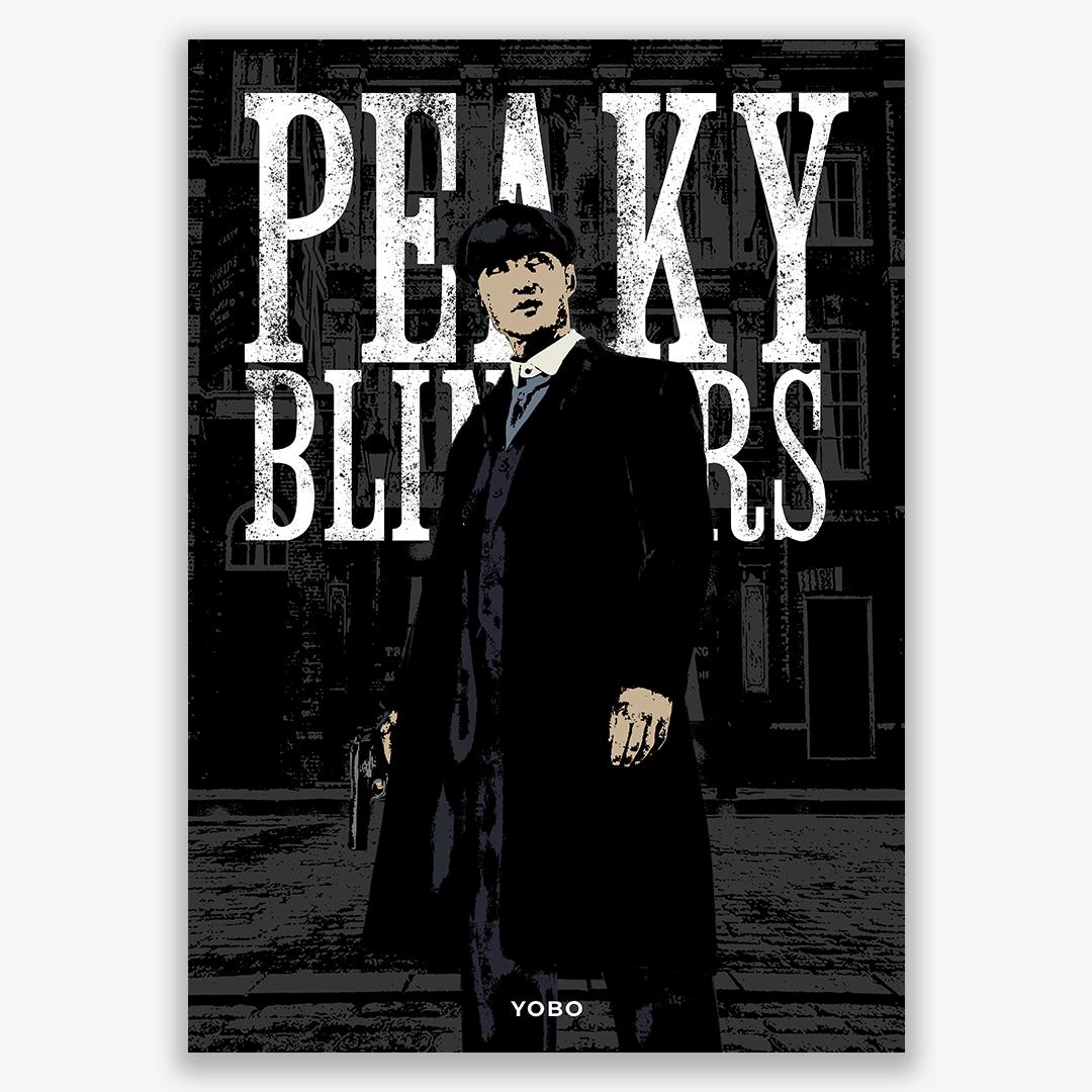 Peaky Blinders - Lámina