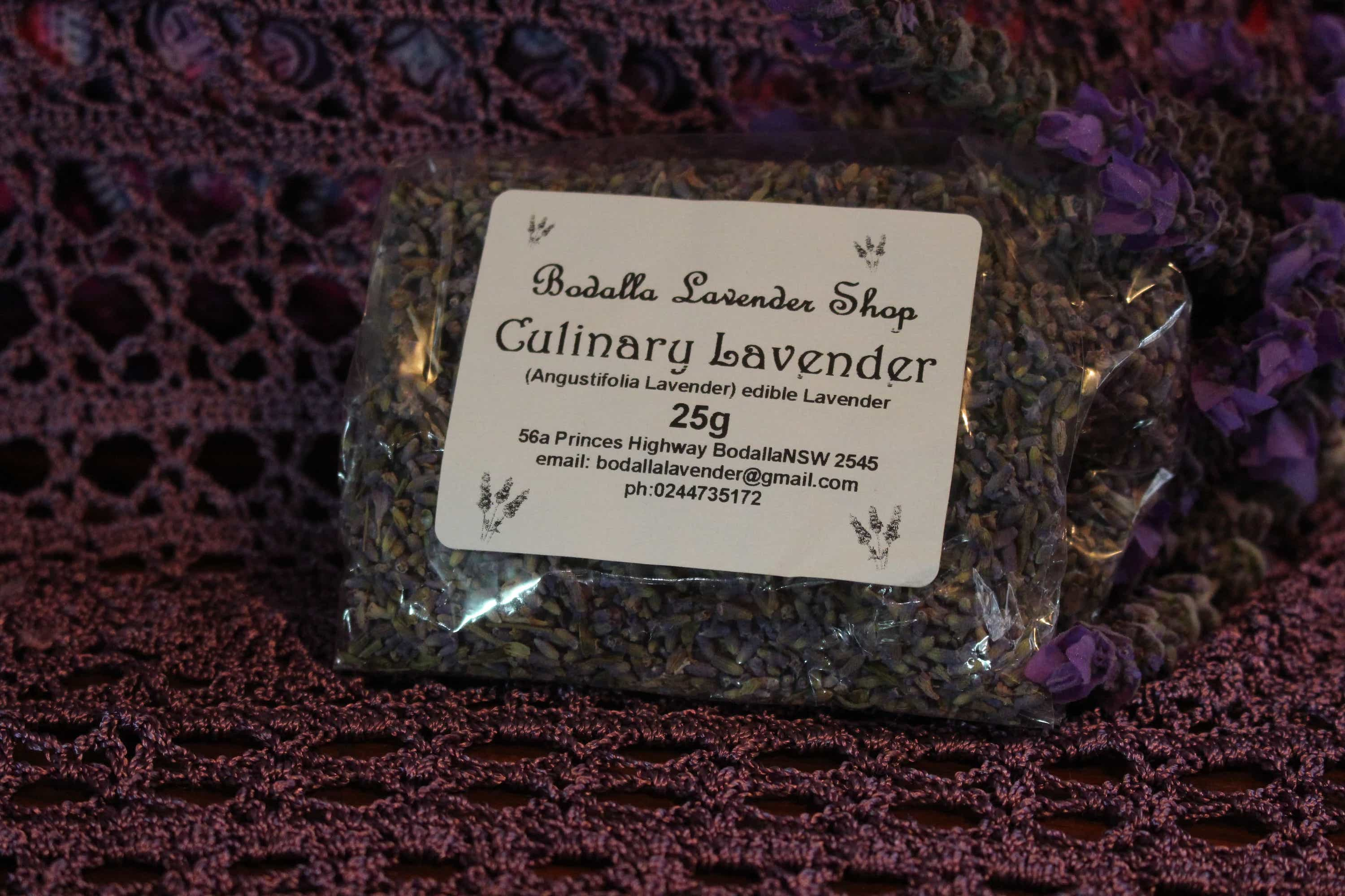 Photograph of an Culinary Lavender 25g product