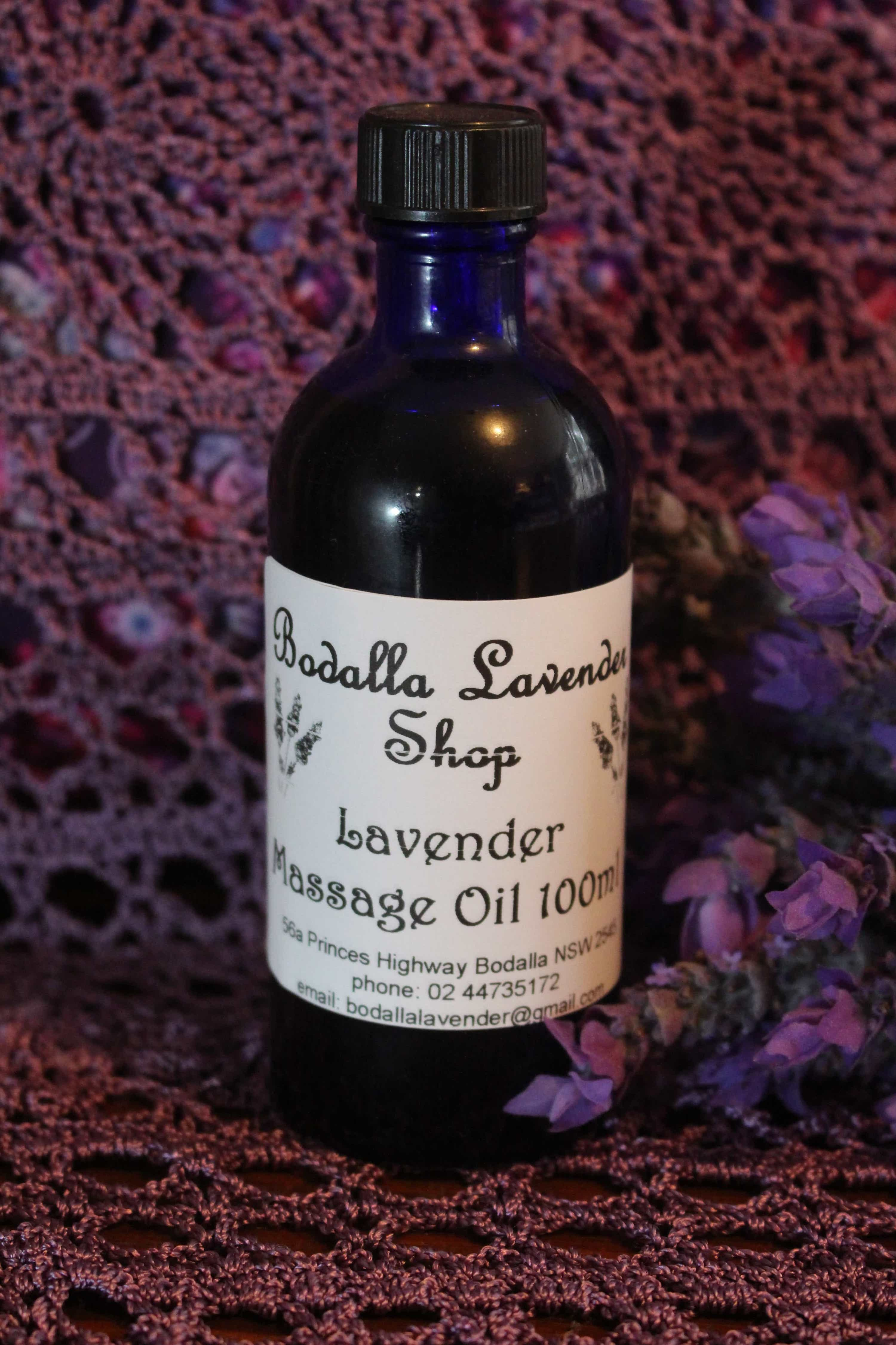 Photograph of an Lavender Massage Oil 100ml product