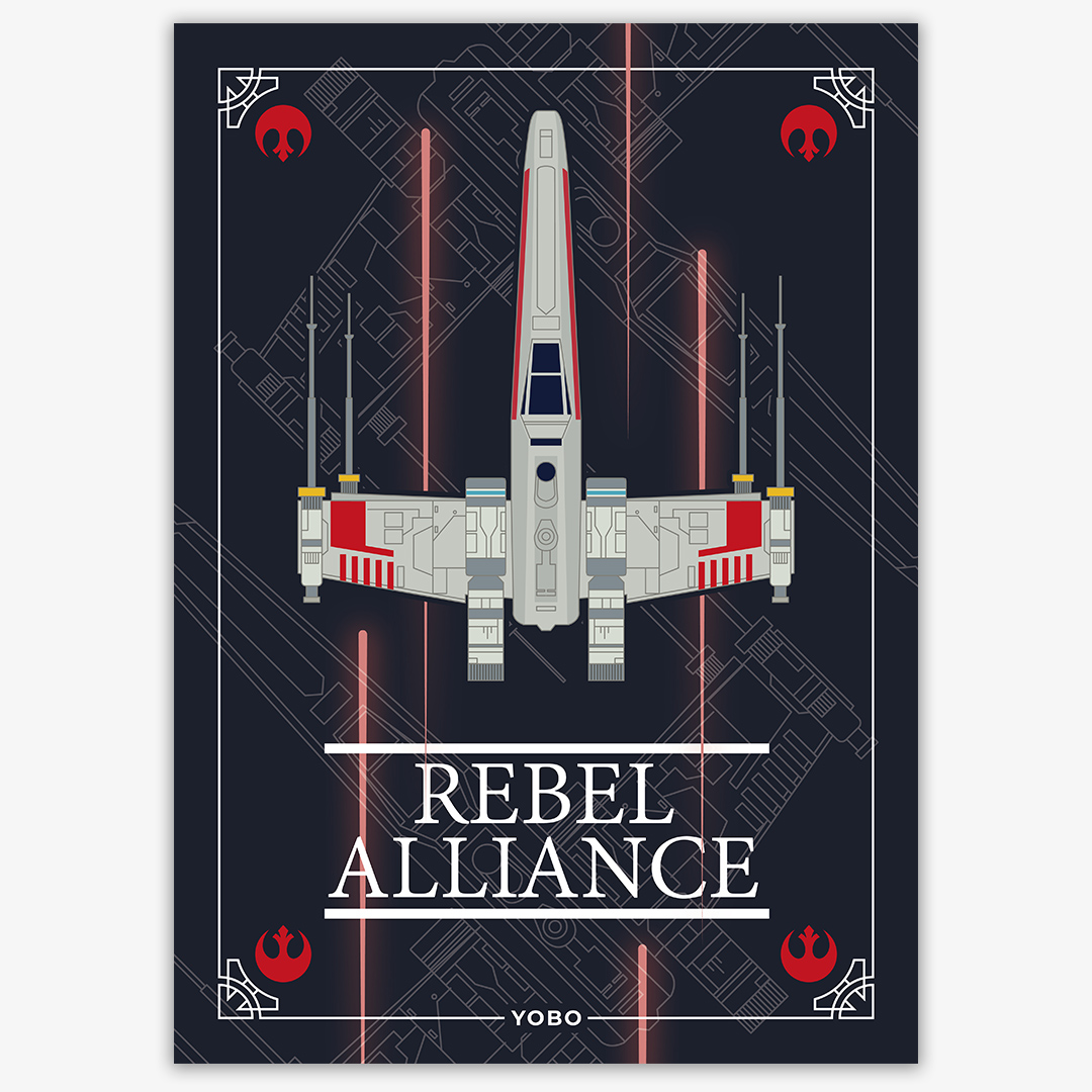 Rebel Alliance - Lámina