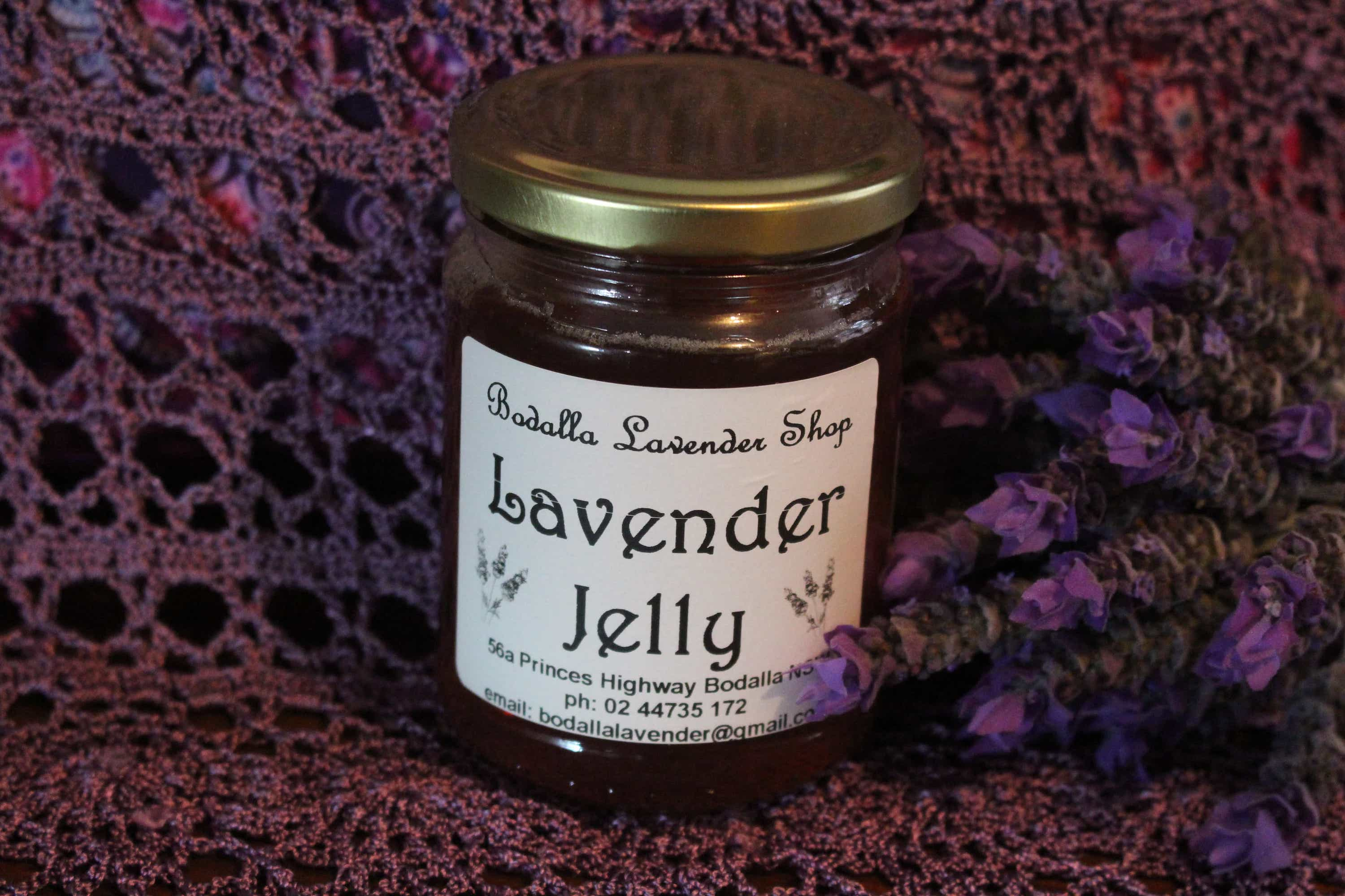 Photograph of an Lavender Jelly product