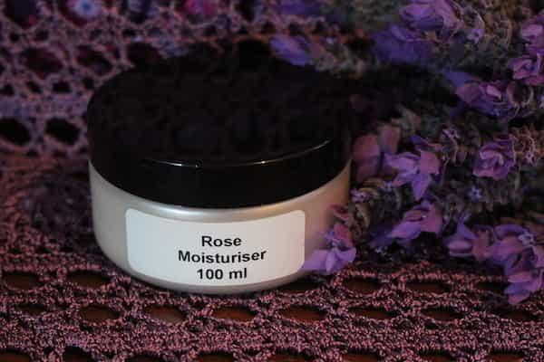 Photograph of an Rose Moisturiser 100ml product