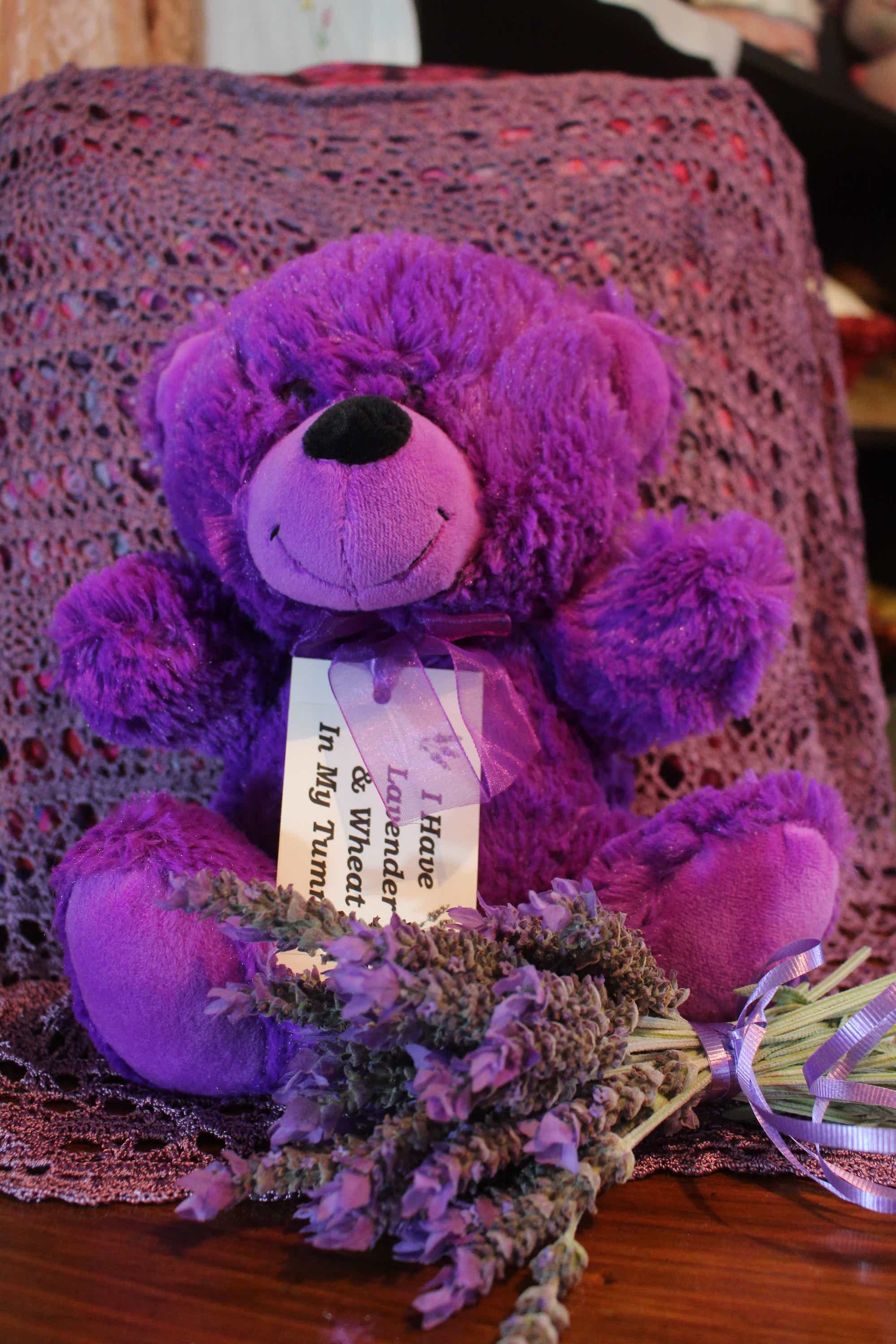 Photograph of Lavender Teddy product
