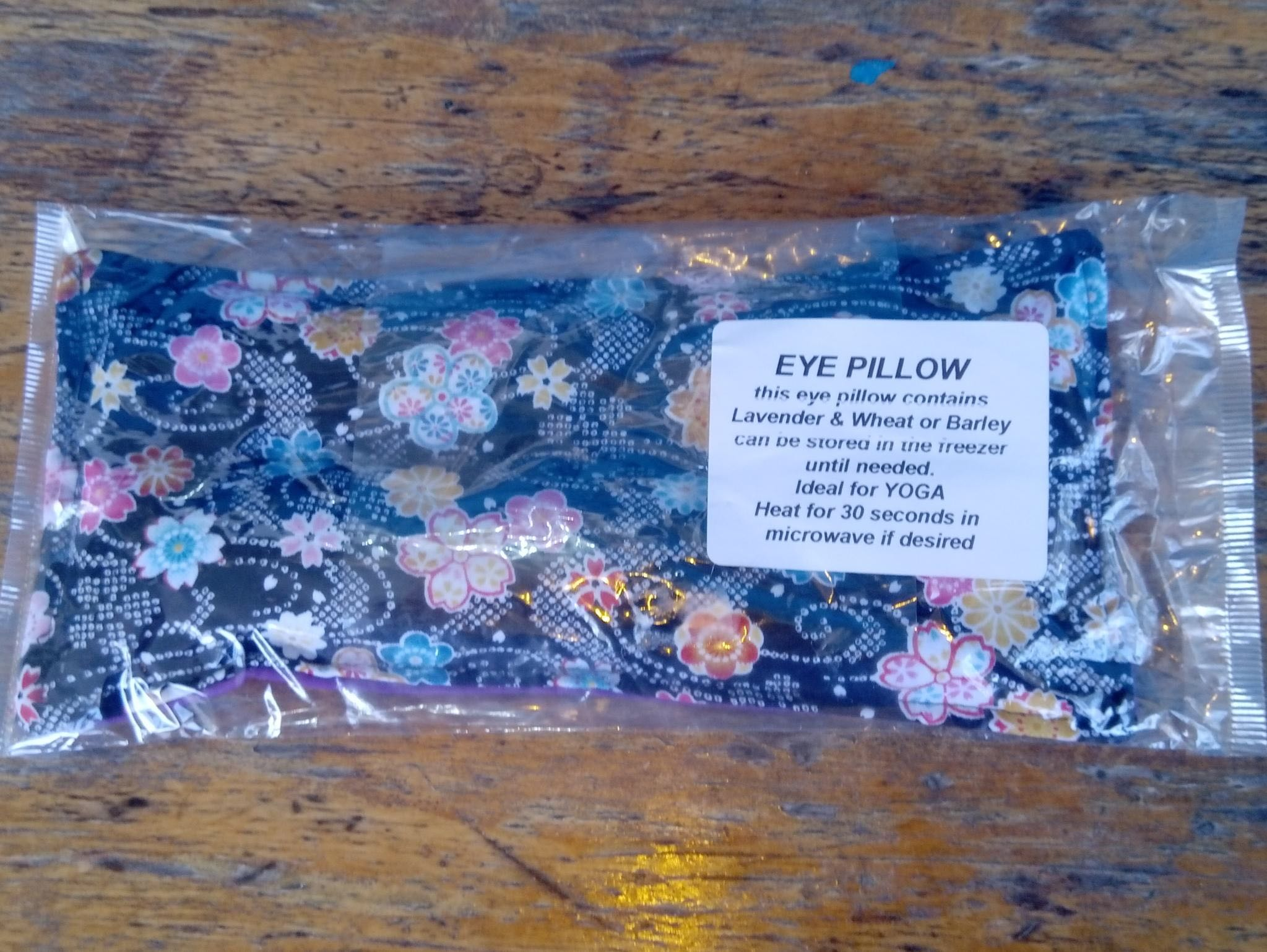 Photograph of Lavender Eye Pillow product