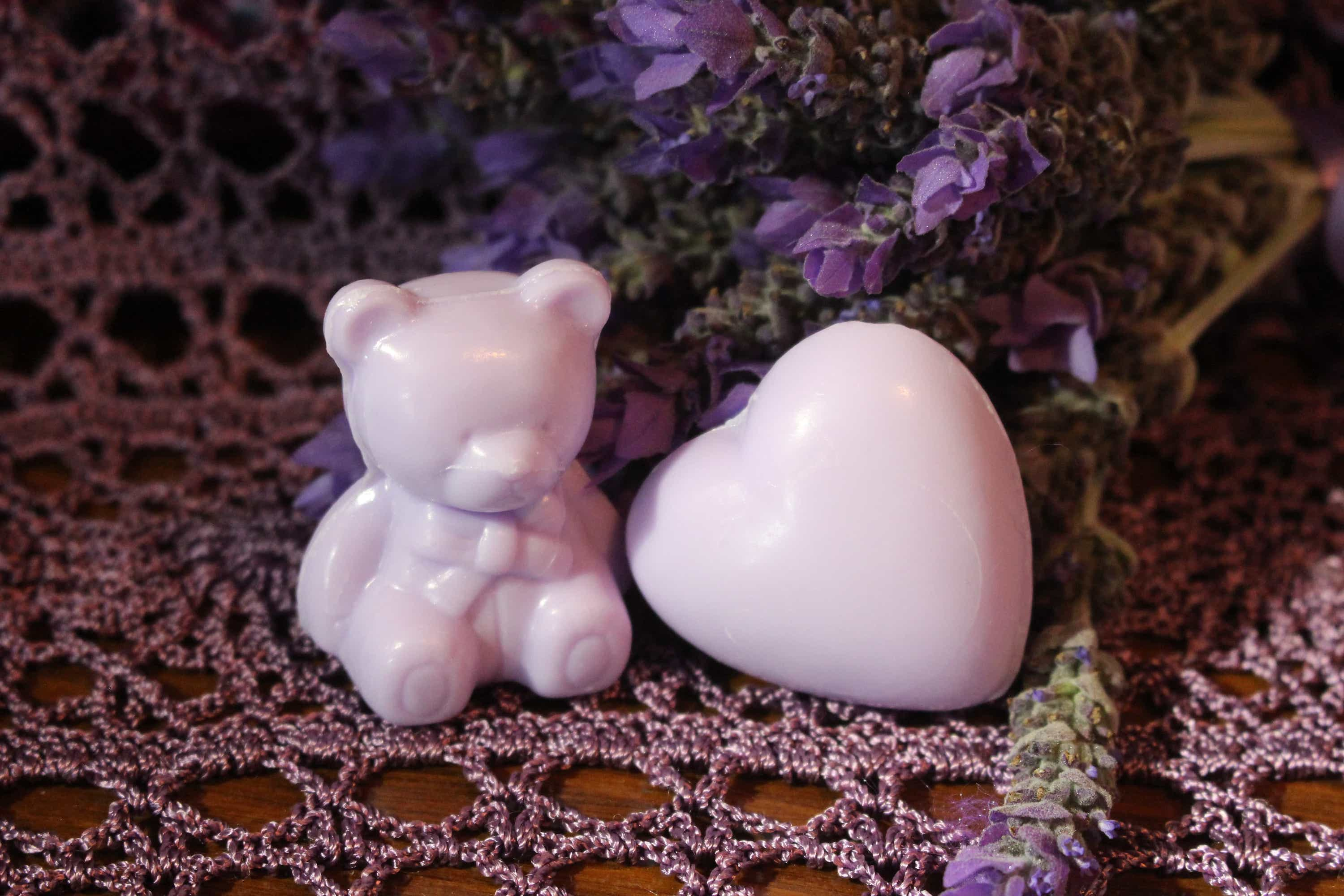 Photograph of an Heart Guest Soap x 5 product