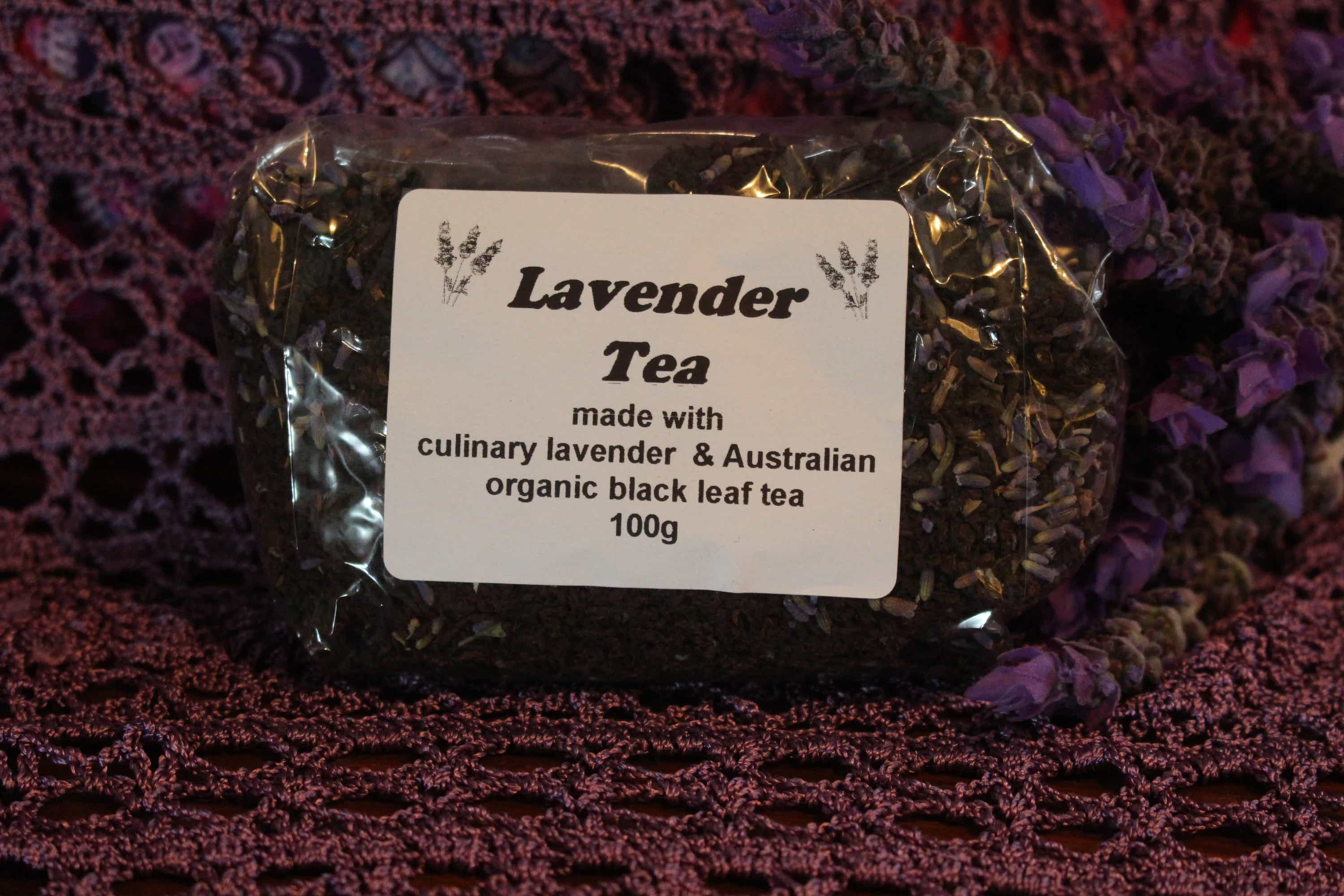 Photograph of an Lavender Tea 100g product